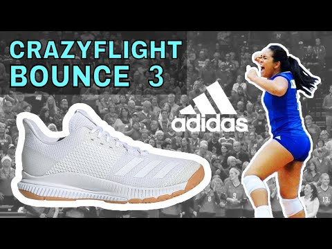 Adidas Crazyflight Bounce 3 Women's Volleyball Shoe Performance Review