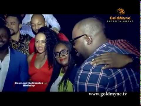 Video of Desmond Elliot 36th Birthday Party with Nollywood Stars (Nigerian Entertainment)