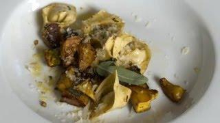 Tortellini Sausage With Squash, Italian Seasoning & Parmesan Cheese : Italian Cooking