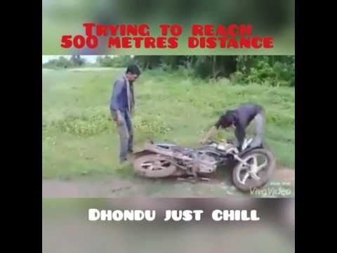 Trying to reach 500 metres distance 😂