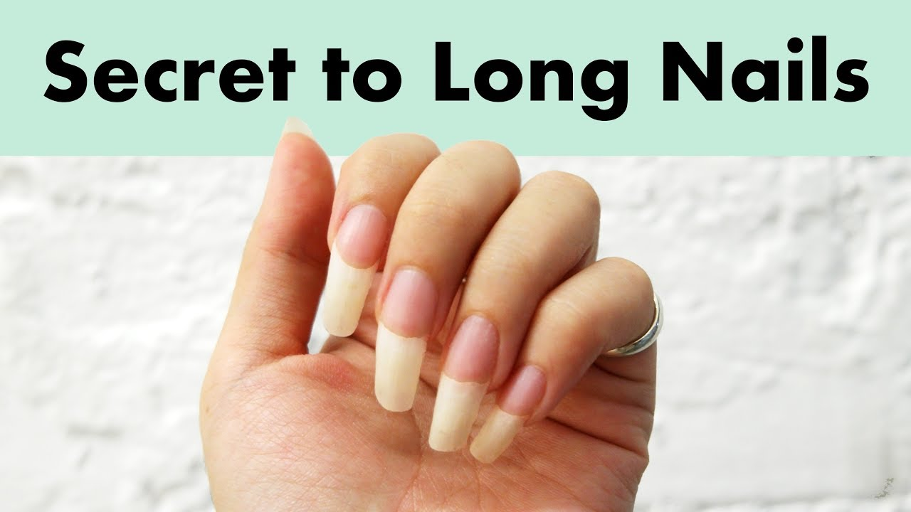 How to Grow Naturally Long Nails Fast | Healthy & Strong Nail Tips ...