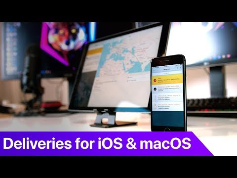 Deliveries - Tracking Packages / Parcels on iOS and macOS