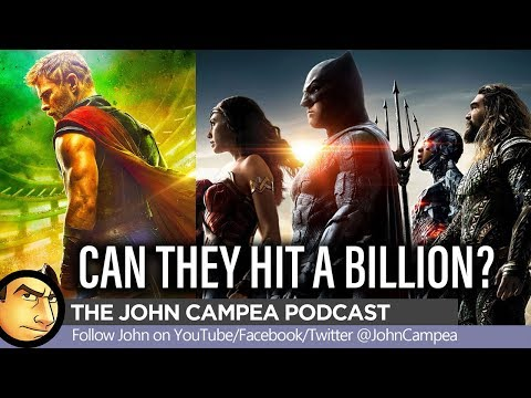 Can Justice League Or Thor Hit A Billion Dollar Box Office?