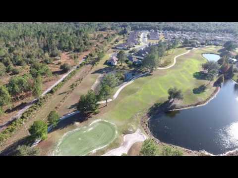 Flight over Plantation Palms Golf Course