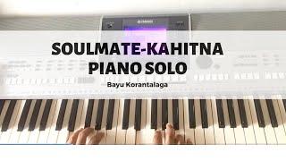 Soulmate - Kahitna (piano cover by Bayu Korantalaga)