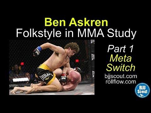 BJJ Scout: Ben Askren - Folkstyle In MMA Study Part 1 (Meta Switch)