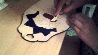 Рисование масляными красками. Часть 1(В этом видео Вы посмотрите как надо рисовать масляными красками., 2014-10-16T17:45:18.000Z)