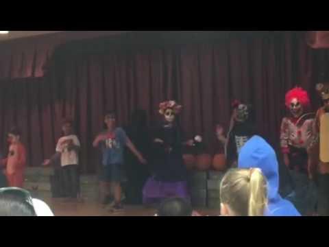 Kapaa Elementary School Halloween costume contest party. Leilani won