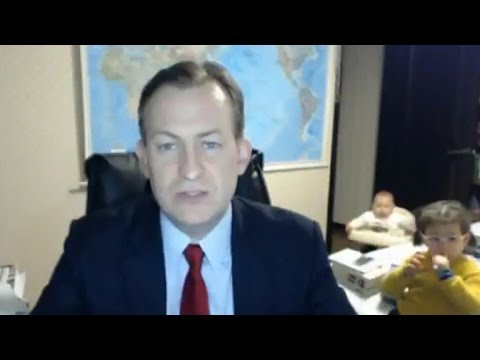 How BBC interview invaded by kids went viral