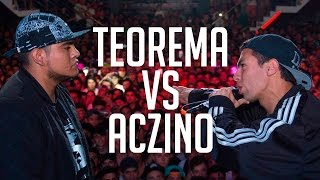 BDM Deluxe 2016 / Final / Teorema vs Aczino