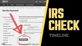 New IRS Stimulus Check Timeline (longer delays?)