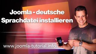 Joomla: deutsche Sprachdatei installieren