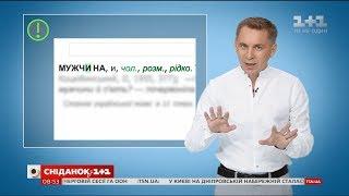 Чоловік чи мужчина – експрес-урок української мови