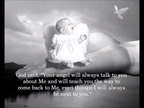 A baby asked god....
