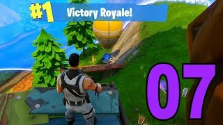 MY FIRST VICTORY ROYALE! - Fortnite Battle Royale (Part 7)