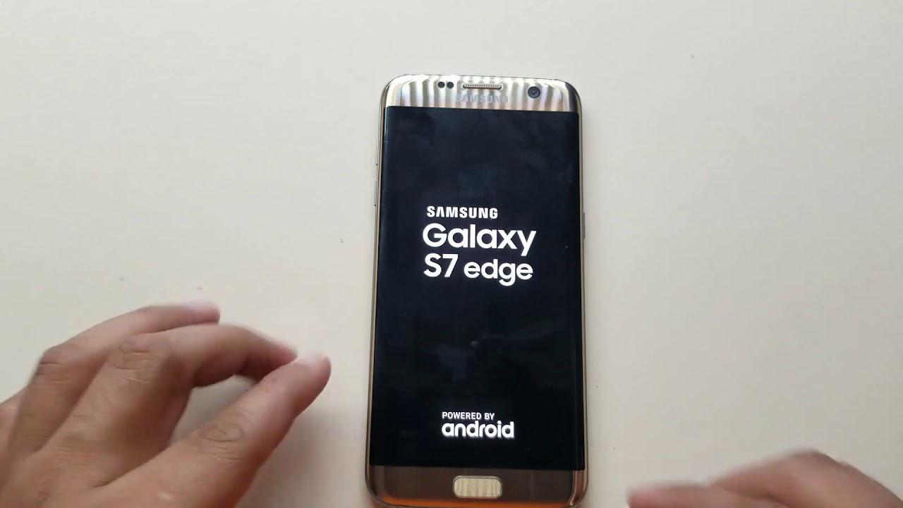 Hard Reset Samsung S7 Edge