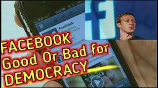 Facebook: we bad for Democracy||Fake News||Facebook admits social media threat to democracy (Update)