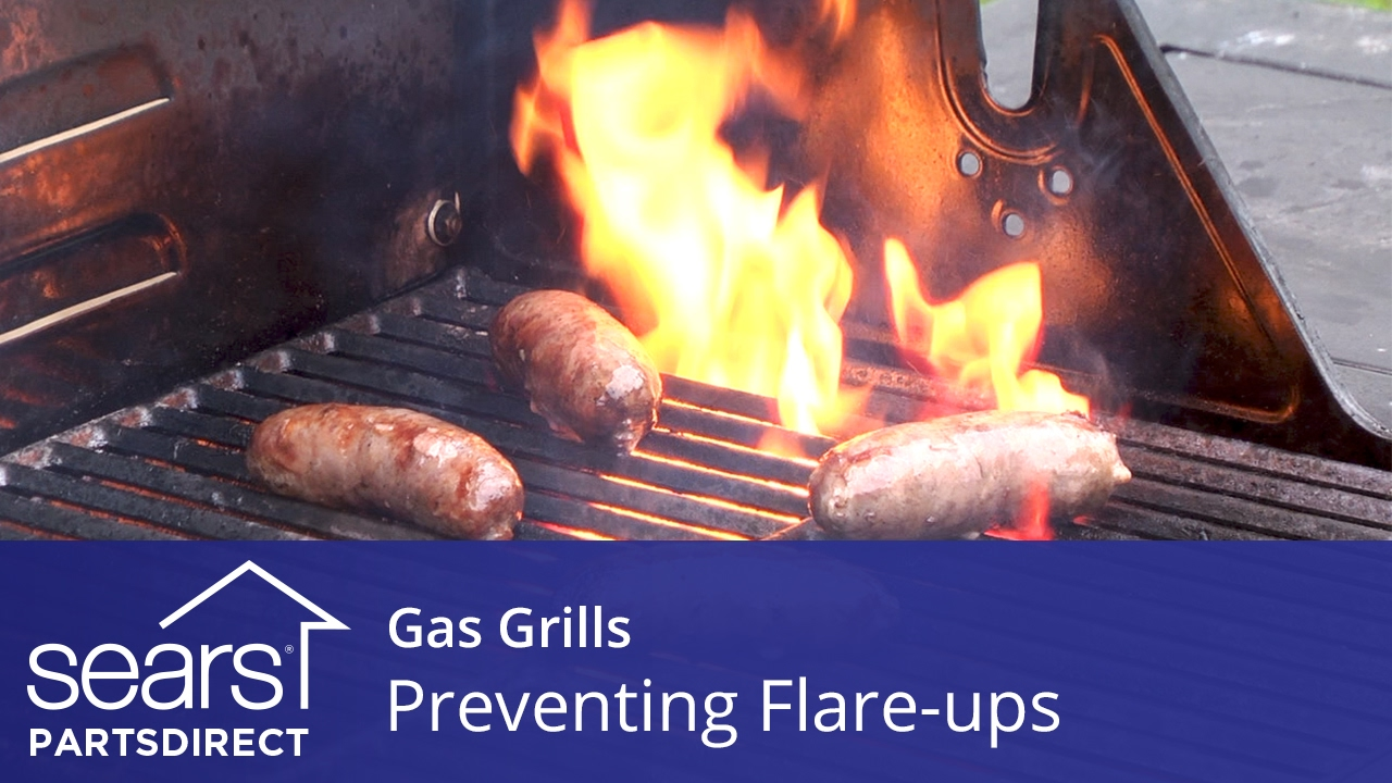 Preventing Grease Flare Ups On A Gas Grill