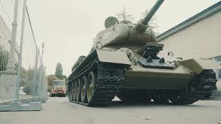 Восстановленный Т-34-85. Лучше оригинала