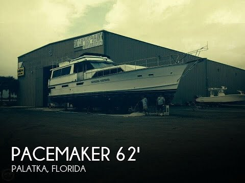 Used 1976 Pacemaker 62 Motor Yacht for sale in Palatka, Florida
