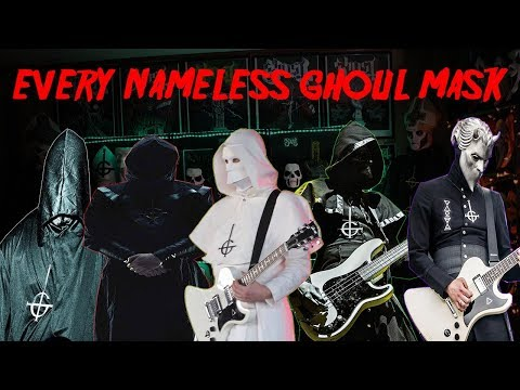 EVERY NAMELESS GHOUL MASK FROM GHOST Mp3