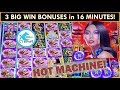AMAZING RUN OF BONUSES! 8 Petals Slot Machine - ALL BIG WINS!!!!