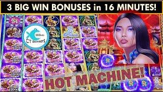 AMAZING RUN OF BONUSES! 8 Petals Slot Machine - ALL BIG WINS!!!!