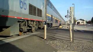 All female crew leads Amtrak #715 to OKJ with a fouled K5LA on P42DC #66