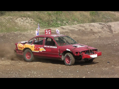 2017 Gander Demolition Derby - Big Car Heat