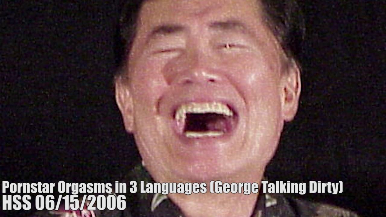 Pornstar Orgasms In  Languages George Talking Dirty