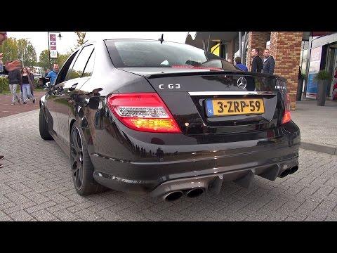Mercedes-Benz C63 AMG w/ iPE Exhaust System! Damn LOUD!
