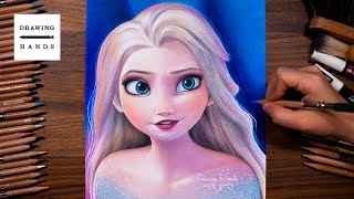 Drawing Frozen2 - Elsa [Drawing Hands]