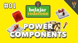 Belajar Redstone #1 : POWER COMPONENTS