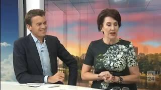 Cynthia Schneider on ABC News Breakfast with Michael Rowland & Virginia Trioli