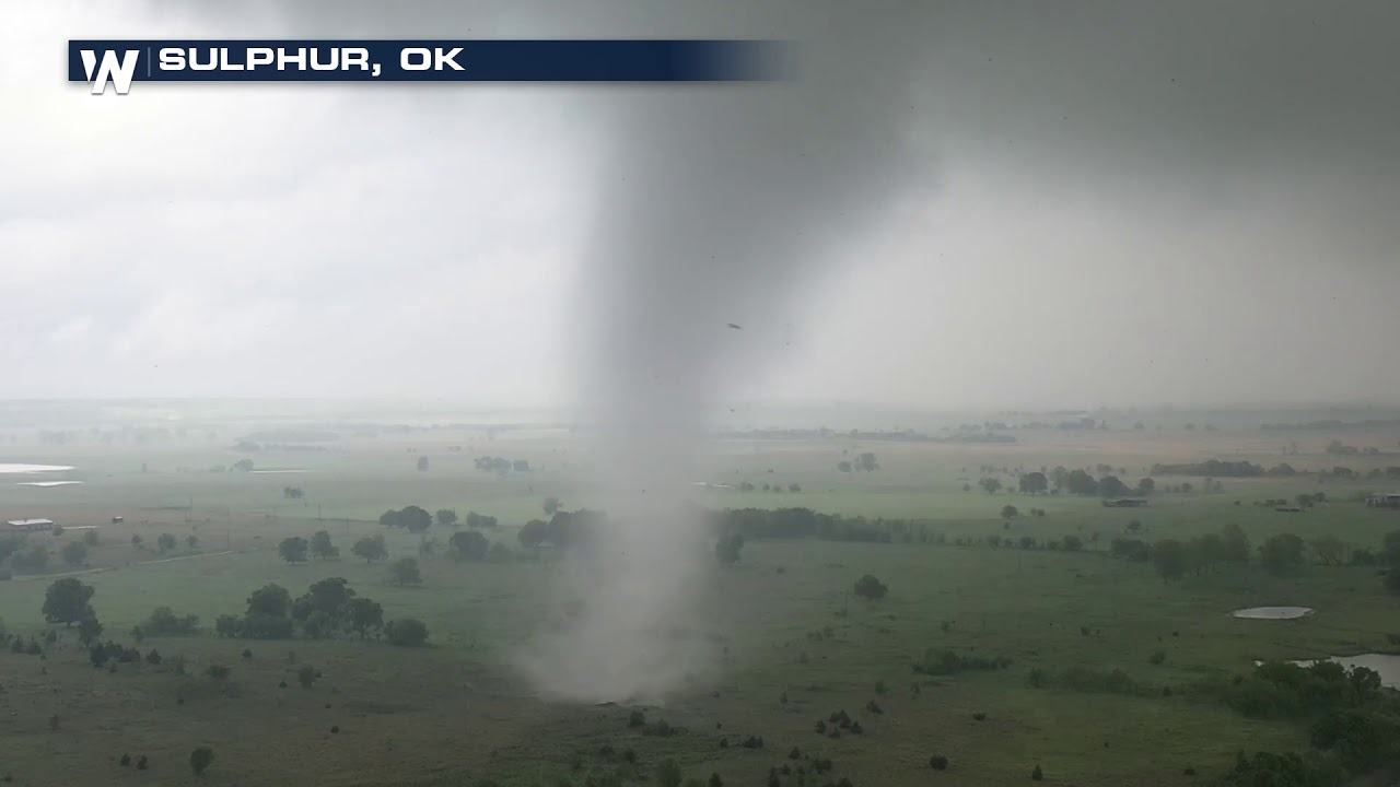 Absolutely Insane Drone Footage of Oklahoma Tornado