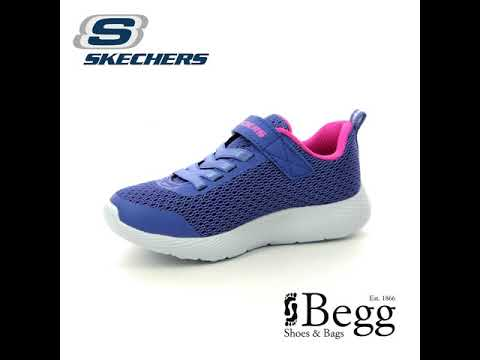 Skechers Dyna Lite 83070 BLHP Blue Pink trainers