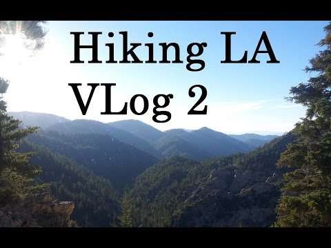 Angeles National Forest Hike - Hiking Los Angeles vlog 2