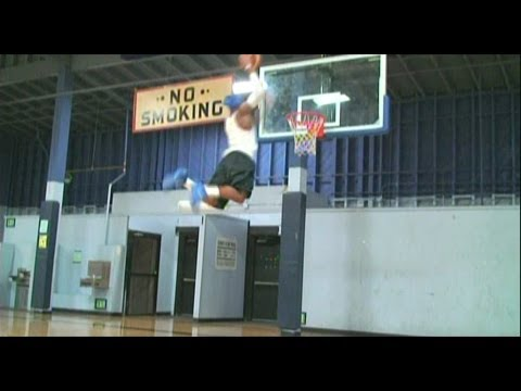 """TFB::Dunks:: Michael Blue aka """"Blue"""" 6'1"""" .. One of the HIGHEST JUMPERS IN THE WORLD **TFB DEBUT**"""