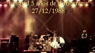 Luis Alberto Spinetta - Festival por la democracia - 27/12/88
