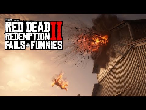 Red Dead Redemption 2 - Fails & Funnies #48 thumbnail