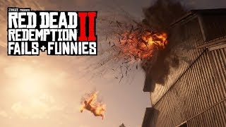 Red Dead Redemption 2 - Fails & Funnies #48