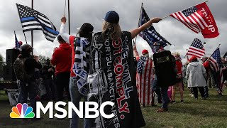 Portland Braces For Potential Violent Clashes Between Right-Wing Rally And Protesters | MSNBC