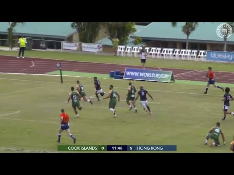 Hong Kong slice through Cook Islands in their RWC 2019 qualifier Mp3