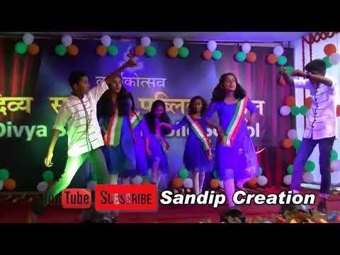 Mai Tere Chunariya Bande Mataram Divya Sanatan School India By Sandip Mandal