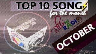 Top 10 Songs (October 2017)