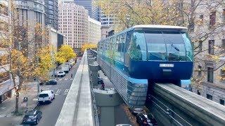 Seattle Monorail Beautiful Fall Colors!