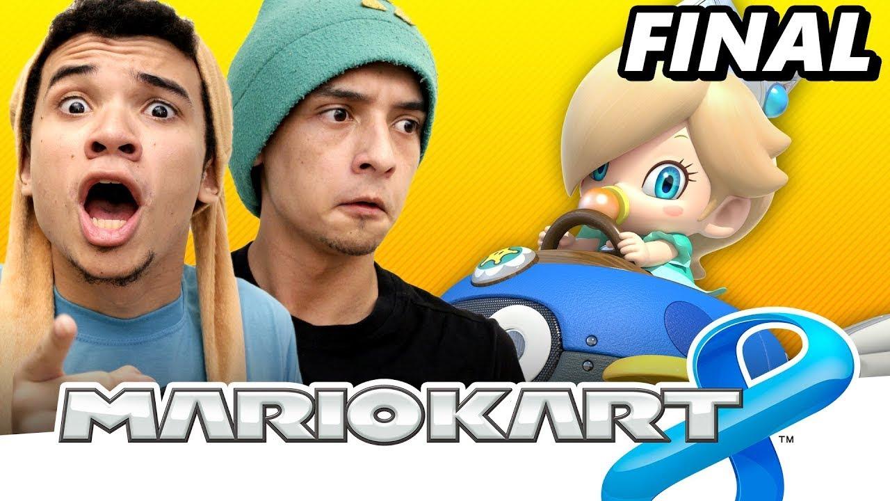 Mario Kart 8 #16 - ATAQUE DOS TITÃS ONLINE   Ataque da Casa