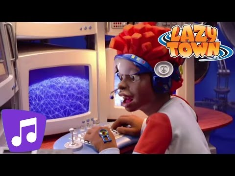 Lazy Town | Gizmo Guy Music Video