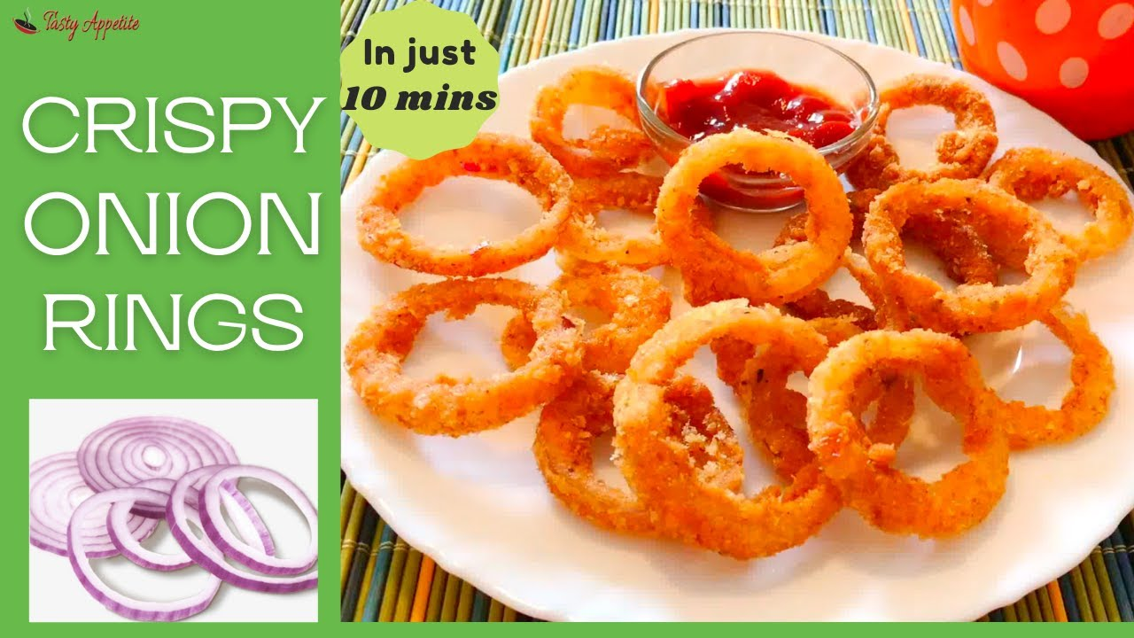 how to keep onion rings crispy