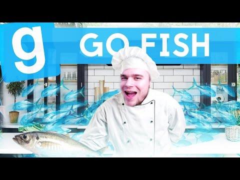 ŁOWIMY W KUCHNI! | Garry's Mod (With: Admiros, Max, Marcin, Mati) #377 - GO FISH! (#8) #Bladii